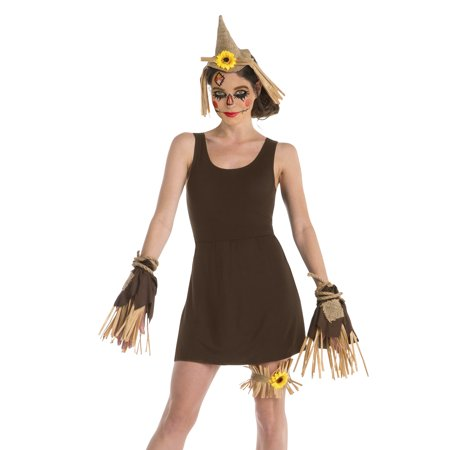 Woman Scarecrow Kit Halloween Dress Up / Costume Accessory