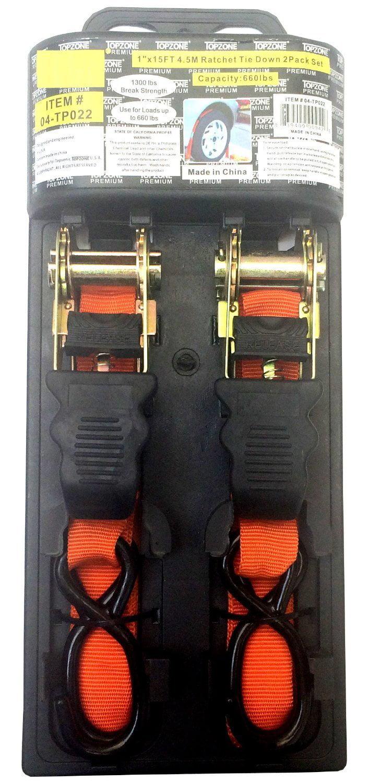 IIT 74650 Ratchet Tie Down 1-Inch X 15-Feet