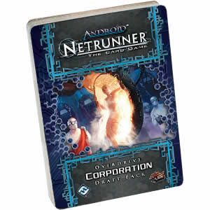 Netrunner Overdrive Draft Corporation Pack Card Game Fantasy