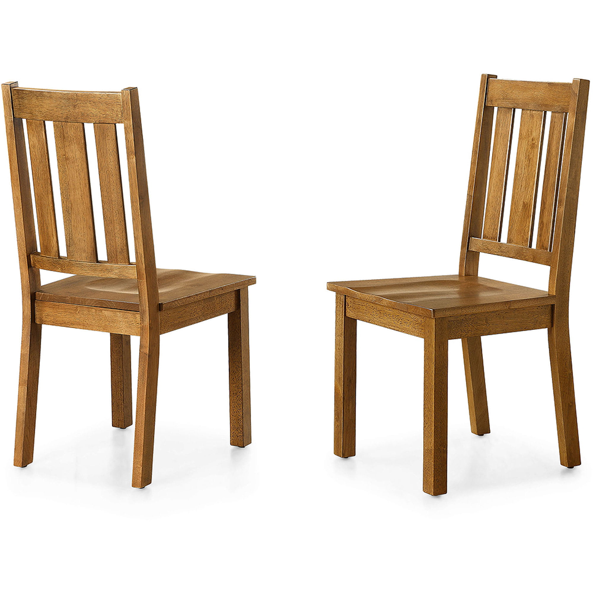 Better Homes and Gardens Bankston Dining Chair Set of 2 Honey