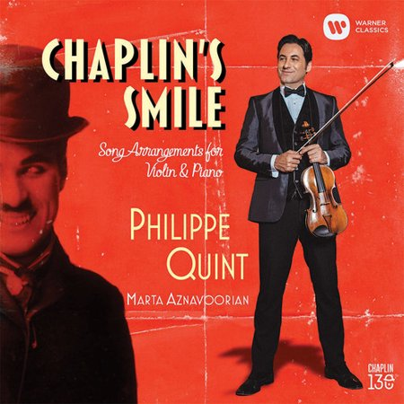 Chaplin's Smile: Song Arrangements Violin & Piano (CD) (Easy Halloween Songs For Violin)