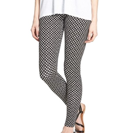 Nordstrom New Black Womens Size Small S Printed Legging Pants