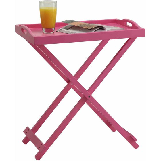 Convenience Concepts Designs2Go Folding Tray Table, Multiple Colors ...