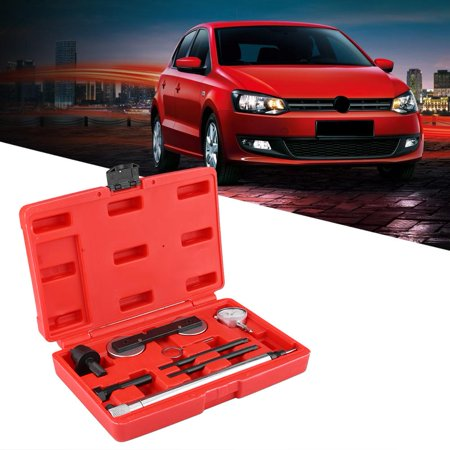 Qiilu 8Pcs Diesel Engine Timing Locking Tool Fitting Kit for VW 1.2 1.4 1.6 TSI FSI, Engine Timing Tool, Timing Tool Fitting - image 4 of 13