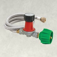 Bayou Classic High-Output Propane Tank Regulator with Hose