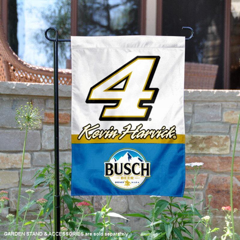 "Kevin Harvick NASCAR #4 13"" x 18"" Double Sided Garden Flag"