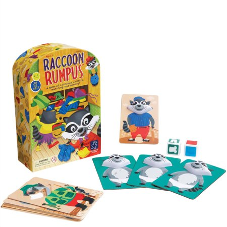 Educational Insights Raccoon Rumpus Game (Educational Halloween Games For Kindergarten)
