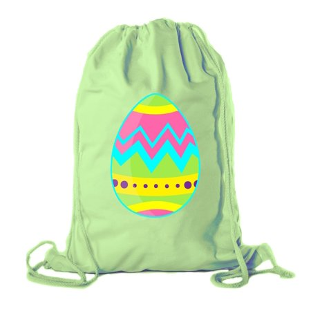 75b99112d Easter Basket Backpack Bulk Cotton Drawstring Cinch Bags Easter Bunny Gift  Bags - Giant Egg - Walmart.com