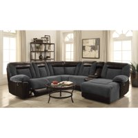 Product Image Coaster Furniture Cybele 6 Piece Reclining Sectional