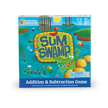 Learning Resources Sum Swamp Game, 8 Pieces [1-Pack]