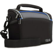 USA Gear Weather Resistant Top-Loading Digital Camera Bag with Rain Cover - Works With