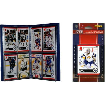 C&I Collectables NHL Buffalo Sabres Licensed 2010 Score Team Set and Storage Album
