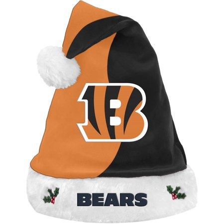 Forever Collectibles NFL Basic Santa Hat, Cincinnati Bengals