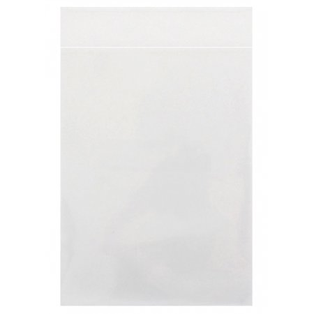 CheckOutStore 100 Clear Storage Pockets Straight Flap (5 5/8 x 7 3/8) (500 Sheet Protectors)