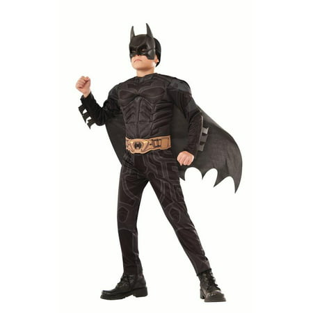 Rubies Dark Knight Batman Boys Halloween Costume](Knight Costume Mens)