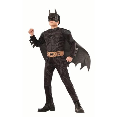 Rubies Dark Knight Batman Boys Halloween Costume (The Joker Fancy Dress Costume Dark Knight)