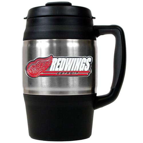 NHL Detroit Redwings Large Heavy Duty Travel Mug