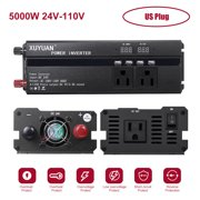 Car Inverter 3000W 4000W 5000W /24V 110/ DC to AC Power Inverter Dual Led Display Modified Sine Power Voltage Transformer Converter