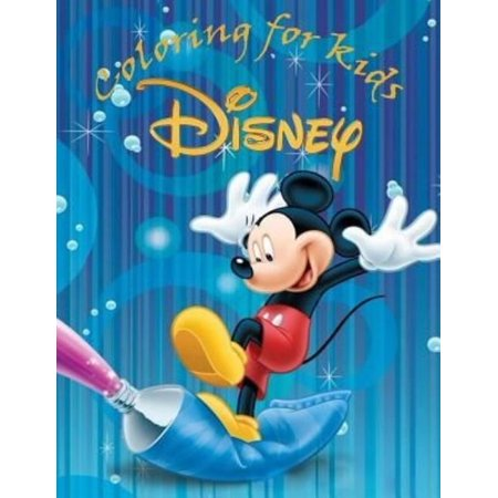 Coloring For Kids Disney This A4 100 Page Book Of Cartoon Fun To Color