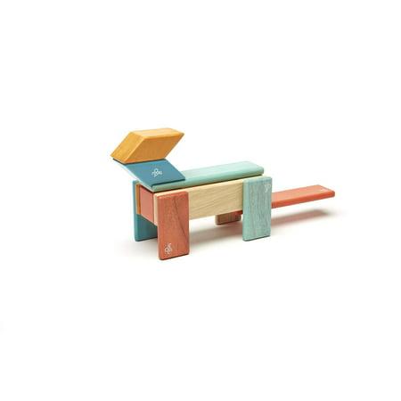 14 Piece Tegu Magnetic Wooden Block Set, Sunset - image 2 of 16