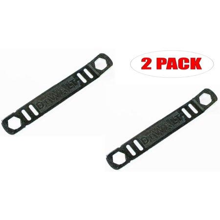 Cingular Pack (DeWalt DWE575 Circular Saw Replacement Blade Wrench (2 Pack) # N165861-2PK)