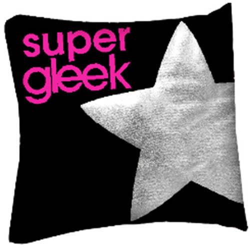 "Glee ""Super Gleek"" Decorative Pillow"