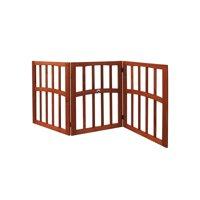 """Etna Freestanding Wood Pet Gate, 52 3/4""""W x 24""""H"""