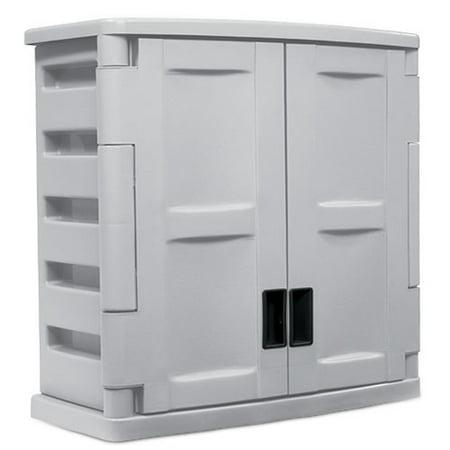 Upc 044365012568 Suncast Two Door Utility Wall Cabinet Suncast