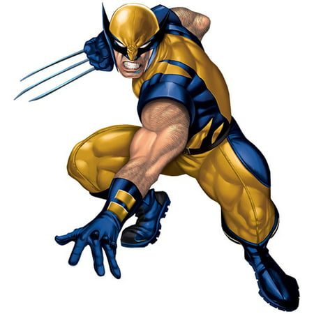 RoomMates Wolverine Peel and Stick Giant Wall Decal