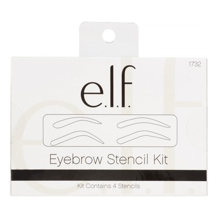 e.l.f. Eyebrow Perfect Stencil Kit (4 Piece) - Day Of The Dead Makeup Stencils