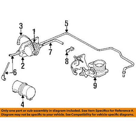 Vacuum Reservoir - Jeep CHRYSLER OEM Cruise Control-Vacuum Reservoir Canister Tank 52004366