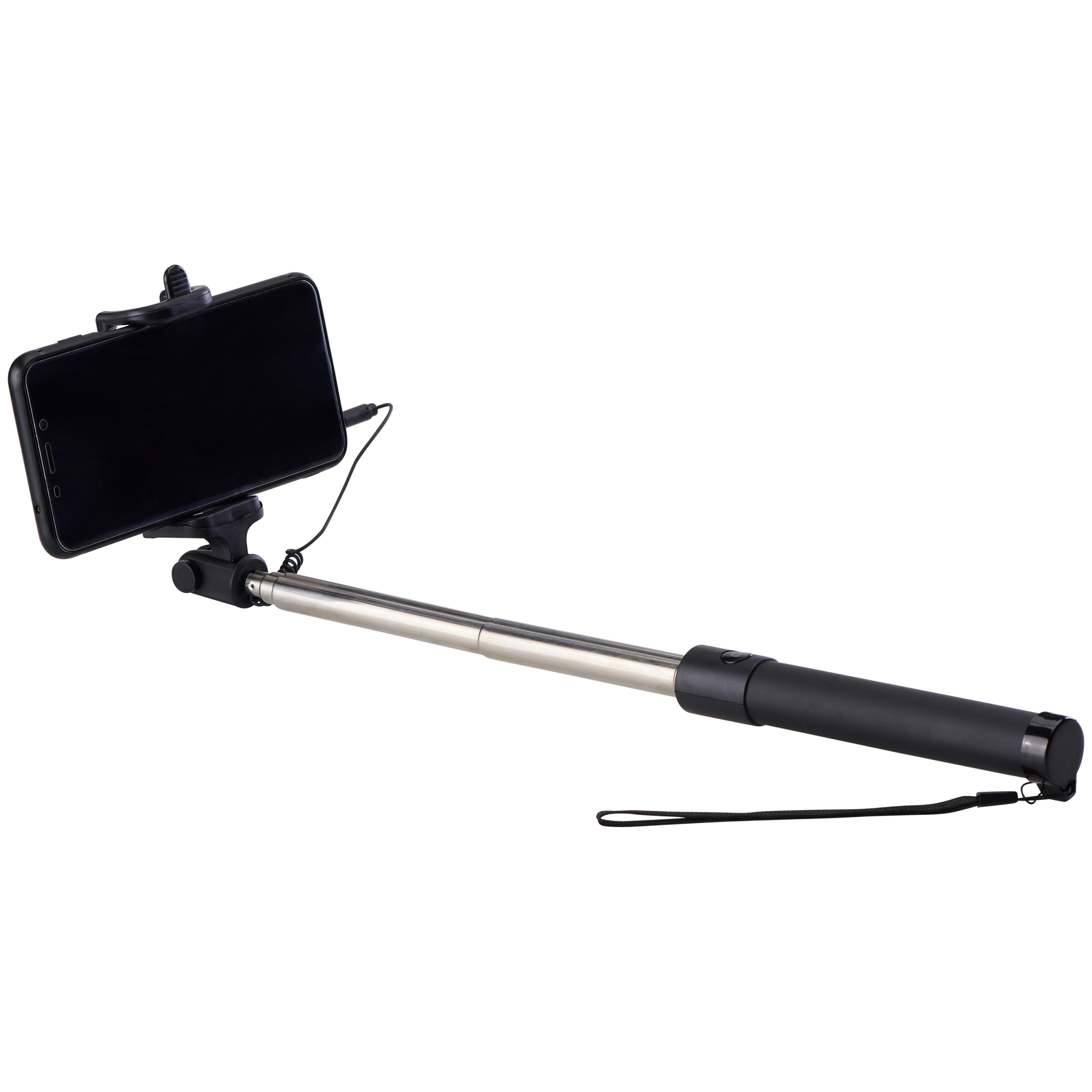 """Onn 28"""" Wired Selfie Stick with 3.5mm Jack"""