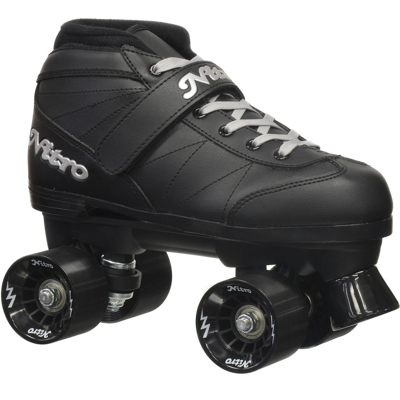 Epic Super Nitro Black Quad Speed Roller Skates by Epic Skates