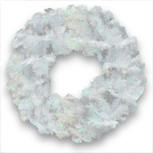 The Holiday Aisle Tinsel Trees Wreath