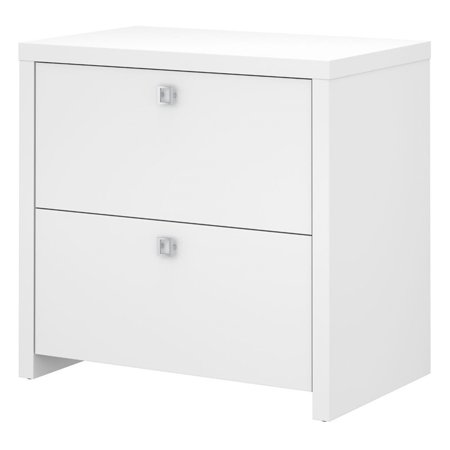 BBF Echo by Kathy Ireland Lateral File Cabinet in Pure (Kathy Ireland Office Cabinet)
