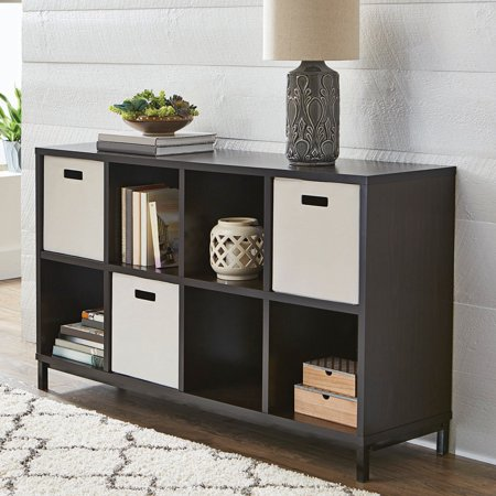 12 Additional Finish (Better Homes and Gardens 8 Cube Storage Organizer with Metal Base, Multiple Finishes )