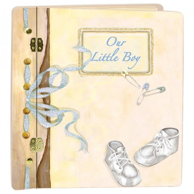 Lexington Studios 12-Album:12056BB Journal Book Baby Boy Album by