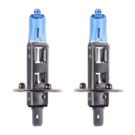 2x H1 Halogen 55W 12V Low-Beam/High-Beam Headlight/Fog Light Bulbs Bright Xenon