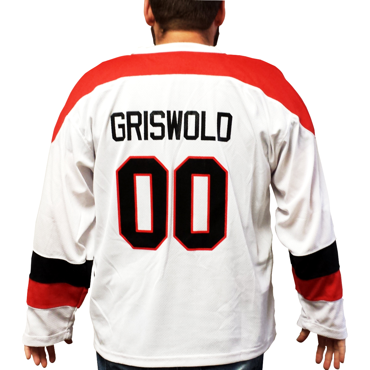 Clark Griswold Hockey Jersey Christmas Vacation 00 Xmas M...