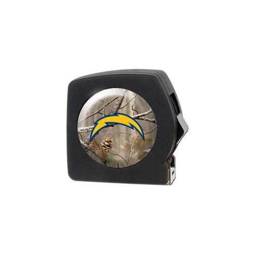Great American Products Rttpmbc2024 Nfl Open Field 25 Foot Tape Measure- Nfl Chargers