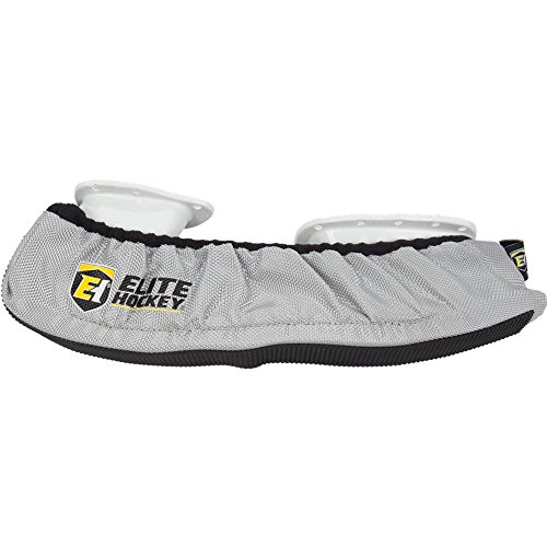 Elite Hockey Pro-Skate Guard (Silver, SR Large) by Elite Hockey