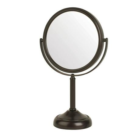 10X Makeup Mirror, Bronze