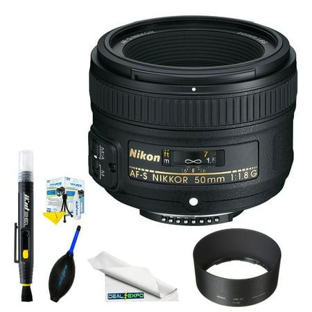 Nikon AF-S NIKKOR 50mm f/1.8G Lens + Expo Basic (50mm 1-8 G Nikon Lens Price In Pakistan)