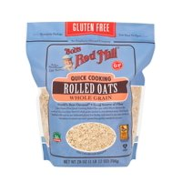 Bob's Red Mill Gluten Free Rolled Oats, Quick Cooking, 28 Ounce