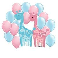 Sweet Safari Gender Reveal Balloon Kit