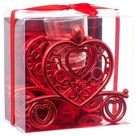 New 379941  Hv Valentine Candle Holder W / Pvc Box (36-Pack) Valentine Cheap Wholesale Discount Bulk Seasonal Valentine Cup