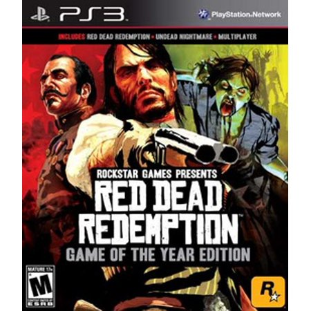 Red Dead Redemption Game of the Year Edition, Rockstar Games, PlayStation 3,