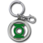 DC Colored Pewter Key Ring