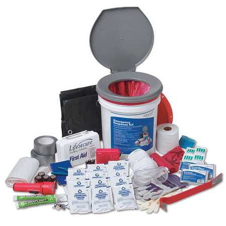 LIFESECURE 31001 Disaster Survival Kit,25 People
