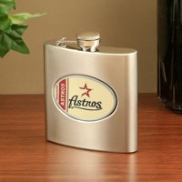 Houston Astros Stainless Steel Flask - No Size